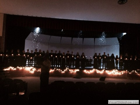 Scottsbluff Choirs perform Silent Night - Christmas 2014<br/>