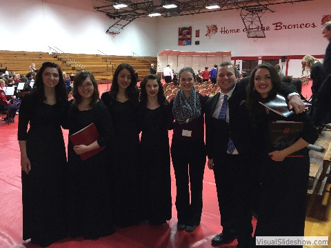 Nebraska Honor Choir - Hastings College 2015
