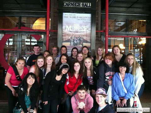 SHS Choir Trip to NYC 2014